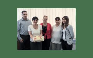 AGS Belgrade and Budapest staff
