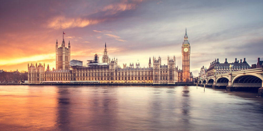 Big Ben, Palace of Westminster and River Thames