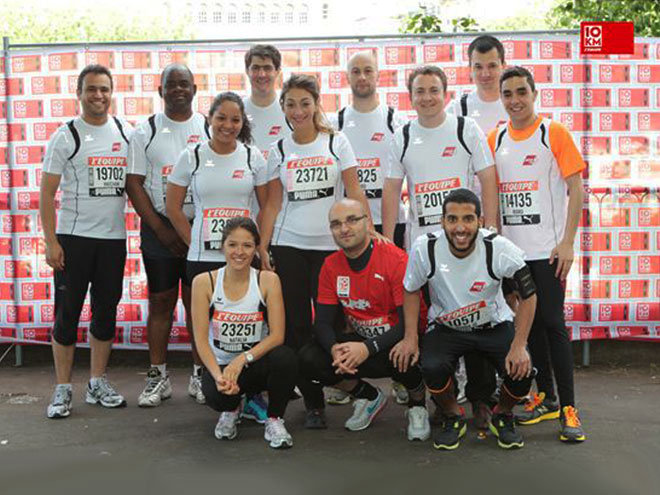 Team of runners AGS Paris