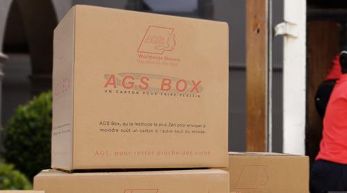 AGS Box colis entre DOM-TOM et France métropolitaine