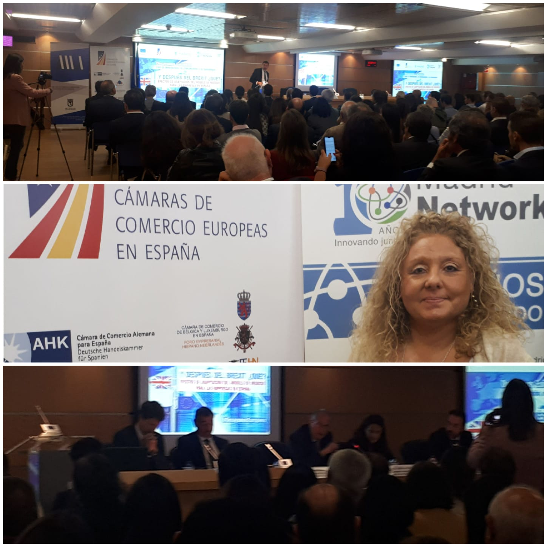 "AGS Spain members attending the ""European Innovation Breakfast"""