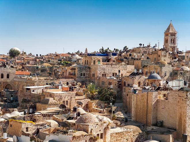 Old city Jerusalem Israël