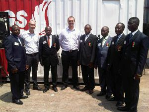 AGS Cameroon staff