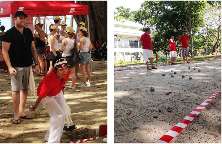 Petanque tournament in Singapore