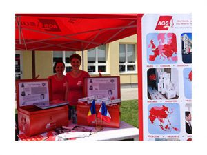 Stand AGS Romania International Festival