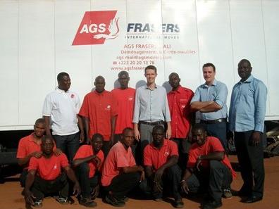 AGS Mali's staff