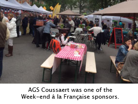 Event organised by AGS Coussaert