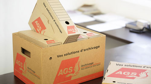 AGS Records Management box