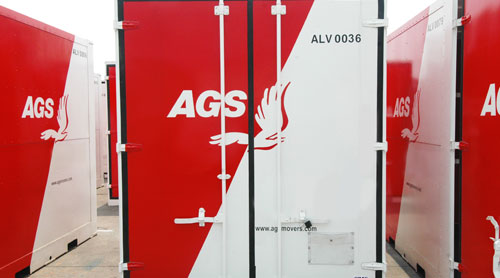 AGS security liftvan