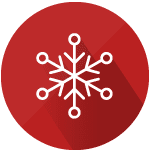 Cold temperature icon