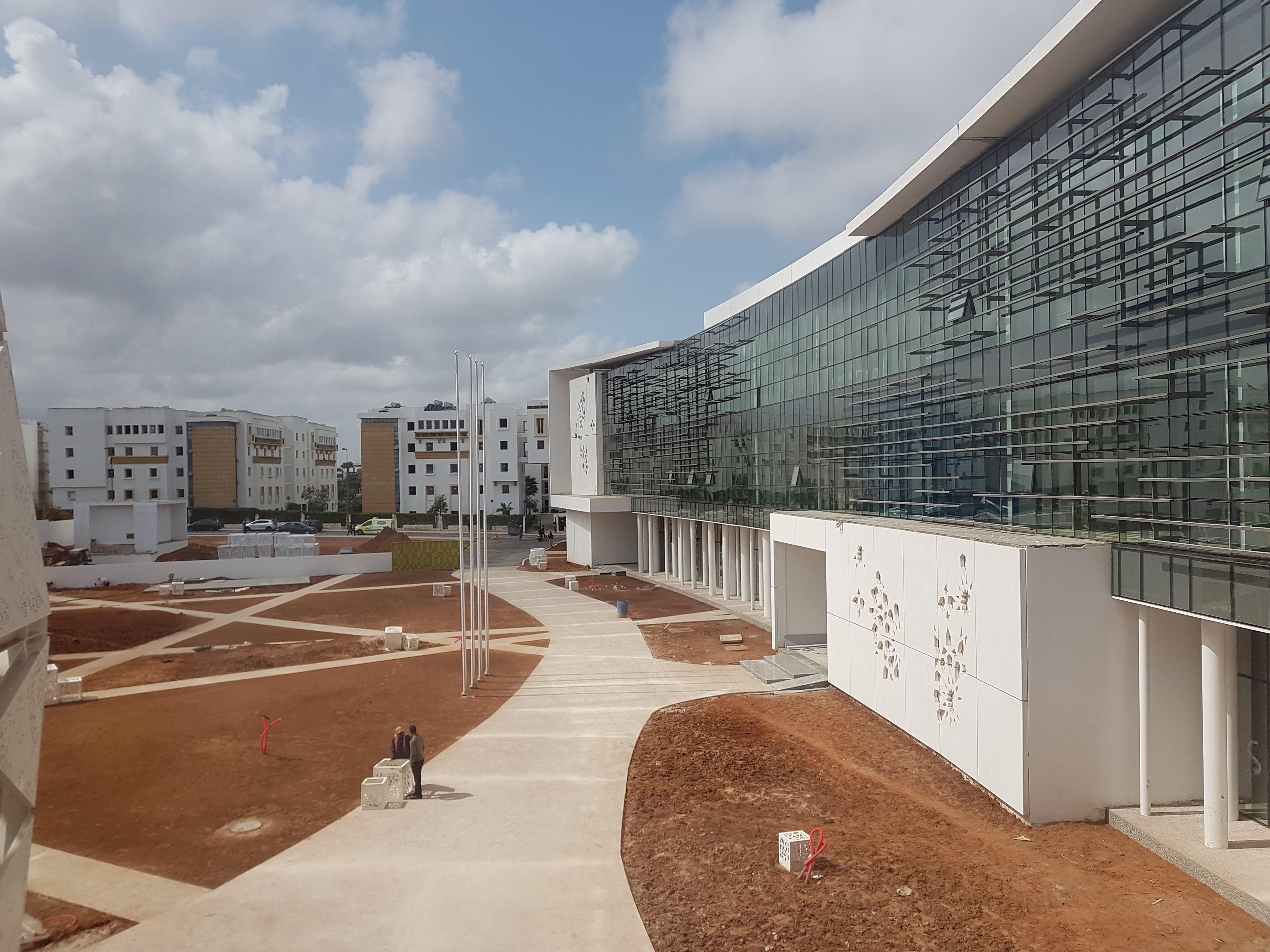 Lalla Khadija multidisciplinary training center in Rabat.