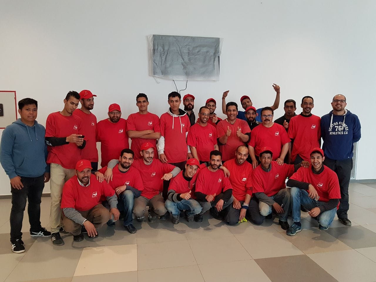 The AGS Movers Morocco team.
