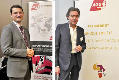 Tony Weiss et Gil le Ménès à l'AG de l'UFE
